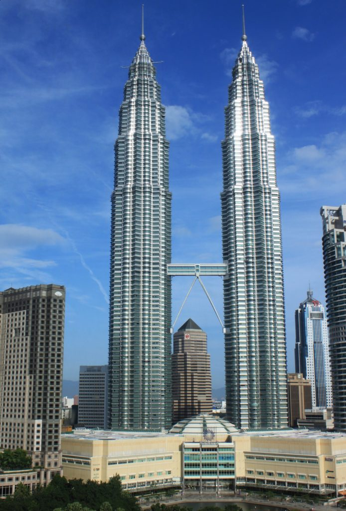 Petronas Twin Towers in Maleisie